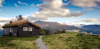 Træhytte i norge